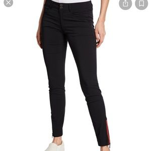 Anatomie Mandy contrast zipper travel pants